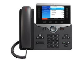 Cisco IP Phone 8851 for 3rd Party Call Center, CP-8851-3PCC-K9=, 32146119, VoIP Phones