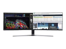 Samsung 49 CHG90 QLED Ultrawide Curved Monitor, C49HG90DMN, 34221987, Monitors