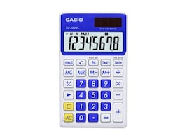 Casio SL-300VC Extra Large Display Time and Tax Calculator, Blue, SL-300VC-BE, 11771097, Calculators