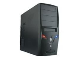 Rosewill Chassis, R103A Mid Tower ATX 6x3.5 Bays 4x5.25 Bays 7xSlots 2xFans 350W, Black, R103A, 16666157, Cases - Systems/Servers
