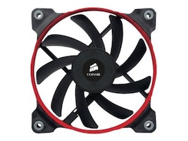 Corsair Air Series AF120 Quiet Edition High Airflow Fan, 2 Pack, CO-9050002-WW, 14032345, Cooling Systems/Fans