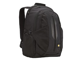 Case Logic 17.3 Laptop Backpack, Black, 3201402, 12959930, Carrying Cases - Notebook