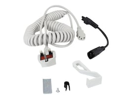 Ergotron Coiled Cord Accessory, UK IRL HKG MYS SNG SAU-UK, 97-921, 35159169, Power Cords