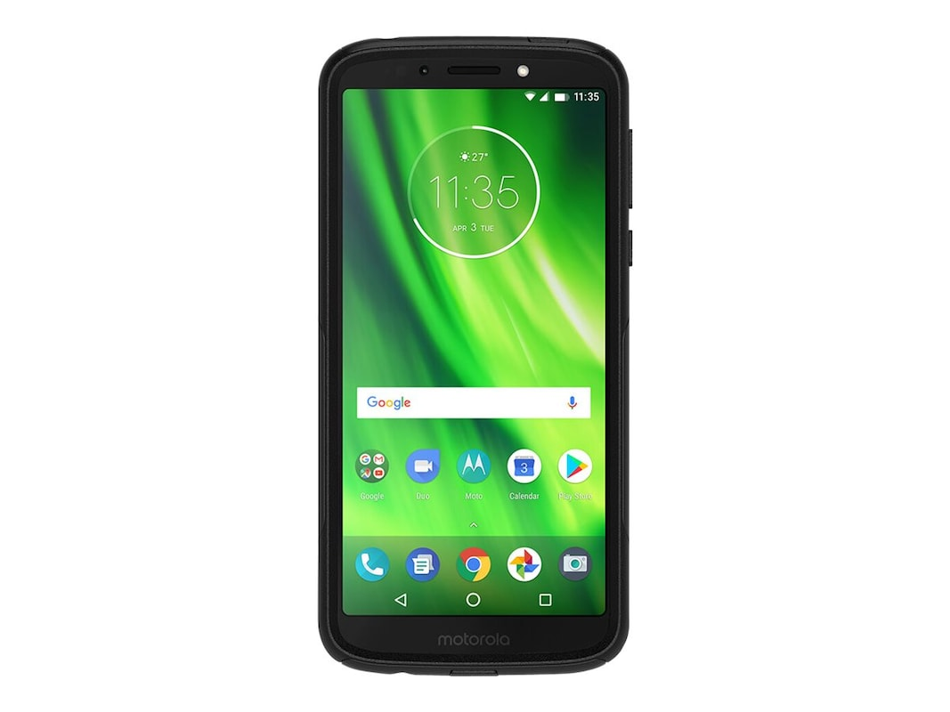best website 2d2fb 3a448 OtterBox Commuter Series Case for Motorola Moto G6 Play, Black, (77 ...
