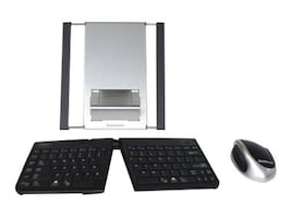 Goldtouch Bluetooth Mobile Keyboard, Mouse and Stand, GTMB-0099W, 17725850, Keyboard/Mouse Combinations