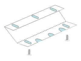 MMF POS MMF Advanced Mounting Brackets, 226199UCBK10-04, 10027961, Mounting Hardware - Miscellaneous