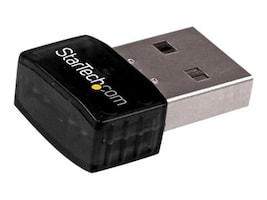 StarTech.com 802.11N USB Wireless LAN Card N300 USB Wi-Fi Dongle, USB300WN2X2C, 17718967, Wireless Adapters & NICs