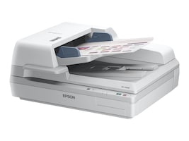 Epson DS-70000 Large-Format Document Scanner, 70ppm, TWAIN & ISIS Drivers, B11B204321, 14777540, Scanners