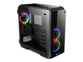 Thermaltake Chassis, View 71 Tempered Glass RGB Edition Full Tower, CA-1I7-00F1WN-01, 35181585, Cases - Systems/Servers