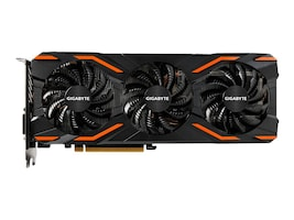 Gigabyte Tech Geforce GTX 1080 PCIe 3.0 x16 WindForce Overclocked Graphics Card, 8GB GDDR5X, GV-N1080WF3OC-8GD, 32315832, Graphics/Video Accelerators