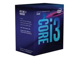 Intel Processor, Core i3-8100 8th Gen, BX80684I38100, 34498193, Processor Upgrades
