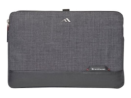 Brenthaven Collins Custom-Fit Sleeve for Laptops 13, Graphite, 1961, 33162111, Carrying Cases - Notebook