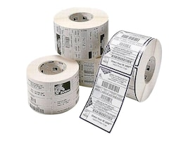 Zebra 2 x 1 Z-Select 4000D Direct Thermal Paper Labels (4 Rolls 2340 Labels-Per-Roll), 10010039, 9816145, Paper, Labels & Other Print Media