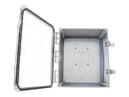Tessco Enclosure w  Clear Door, Latching Locks, 12 x 10 x 6, CV12106LC-NH, 18472559, Racks & Cabinets