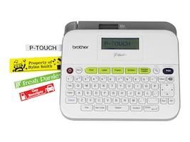 Brother PT-D400VP Label Maker w  Carry Case & Adapter, PT-D400VP, 17544160, Printers - Label