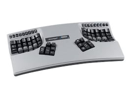 Kinesis Advantage2 Keyboard w  Painted Silver Gloss Finish, KB605, 32490243, Keyboards & Keypads