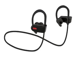 GPX BT Earbuds w  Built-In Mic - Black, IAEB26B, 33252511, Headsets (w/ microphone)