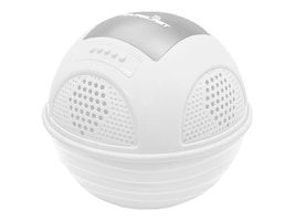 Pyle Aqua Blast BT Floating Pool Speaker System w  Rechargeable Battery - White, PWR90DWT, 33977070, Speakers - Audio