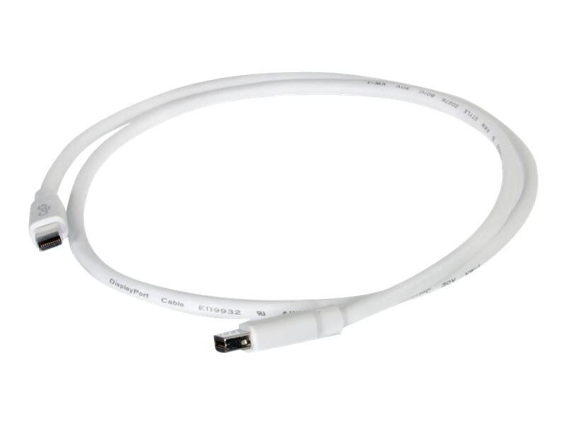C2G Mini DisplayPort M M Cable, White, 6ft, 54411, 17320781, Cables