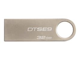Kingston 32GB DataTraveler SE9 USB 2.0 Flash Drive, DTSE9H/32GBZ, 15258936, Flash Drives
