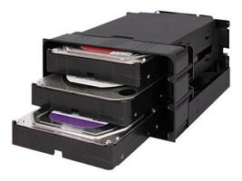 Icy Dock FlexiDock 35 SATA SAS Hard Drive Enclosure, MB830SP-B, 37629460, Hard Drive Enclosures - Multiple
