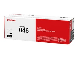 Canon Black 046 Full Yield Toner Cartridge, 1250C001, 33923928, Toner and Imaging Components - OEM
