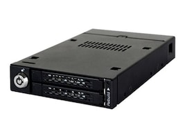 Icy Dock 2.5 to 3.5 SATA Solid State Drive Mobile Rack, MB992SKR-B, 31432754, Drive Mounting Hardware