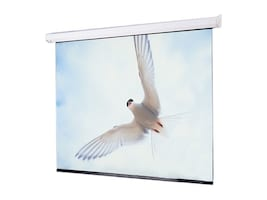 Draper Targa Projection Screen with Low Voltage motor, Matt White, 12' x 12', 116012L, 33887955, Projector Screens