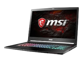 MSI GS73VR Stealth Pro 4K-223 Gaming Notebook, GS73VR4K223, 33632485, Notebooks