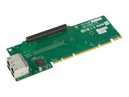 Supermicro AOC-2UR66-I4G Main Image from Left-angle