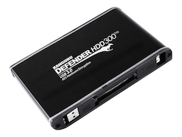 Kanguru™ 480GB Defender SSD300 USB 3.0 Encrypted FIPS-140-2 External Solid State Drive, KDH3B-300F-480S, 22252065, Solid State Drives - External