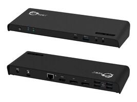 Siig USB-C 4K Triple Display Docking Station, JU-DK0611-S1, 35536948, Docking Stations & Port Replicators