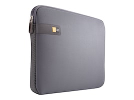 Case Logic 14 Laptop Sleeve, Graphite, LAPS114GRAPHITE, 30618485, Carrying Cases - Notebook