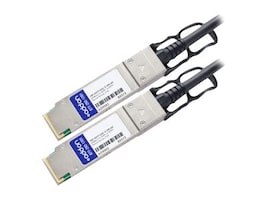 AddOn JNP-QSFP-DAC-2-5M-AO Main Image from Left-angle