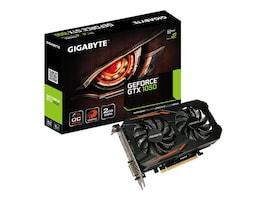 Gigabyte Technology GV-N1050OC-2GD Main Image from Left-angle