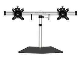 Siig Dual Monitor Desk Stand for 13-27 Displays, CE-MT2011-S1, 32405838, Stands & Mounts - Desktop Monitors