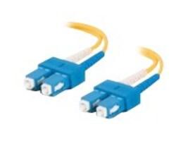 Netpatibles SC-SC OS1 OS2 Singlemode Duplex Fiber Cable, 1m, FDEBUBUV3Y1M-NP, 32192511, Cables
