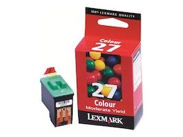 Lexmark #27 Color Ink Cartridge for X2250, X4270, Z515 & Z615 Printers, 10N0227, 4875111, Ink Cartridges & Ink Refill Kits