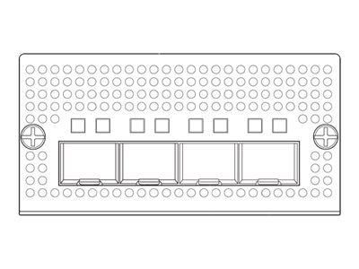 Cisco NIM-4-10GE-SFPP 4PT NIM 10GE VEDGE-5000