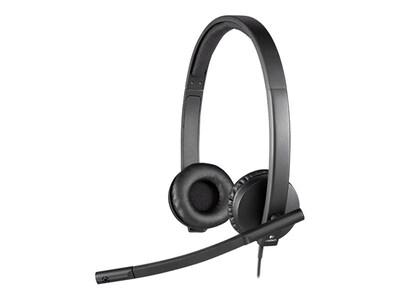 Logitech H570E Stereo USB Headset, 981-000574, 17579961, Headsets (w/ microphone)