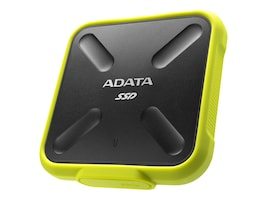 A-Data 1TB SD700 External Solid State Drive - Yellow, ASD700-1TU31-CYL, 36830989, Solid State Drives - External