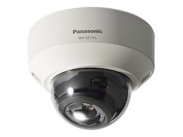 Panasonic 1080p Network Dome Camera with Night Vision, WV-S2131L, 37623068, Cameras - Security