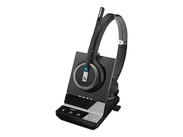 Sennheiser Dbl Sided DECT Wrlss Hdst Sys, 507024, 36714081, Headsets (w/ microphone)