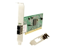Transition PCI NIC 1000BASE-LX SM LC, N-GLX-LC-03, 17607001, Network Adapters & NICs