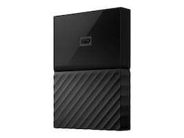 WD 2TB My PassPort USB 3.0 Portable Hard Drive - Black, WDBS4B0020BBK-WESN, 35245905, Hard Drives - External