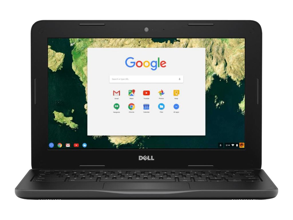 Dell Chromebook 3180 Celeron N3060 1.6GHz 4GB 16GB SSD 11.6 HD Chrome OS, 83C80, 33763282, Notebooks
