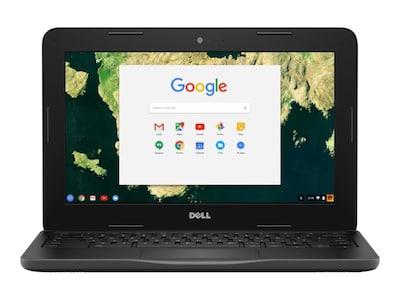 Dell Chromebook 3180 Celeron N3060 1.6GHz 2GB 16GB SSD 11.6 HD Chrome OS, D44PV, 33763274, Notebooks