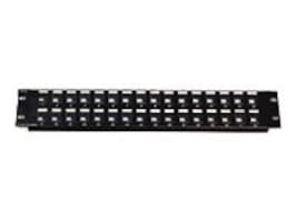 C2G 32-Port Blank Keystone Patch Panel, 03860, 7474671, Patch Panels