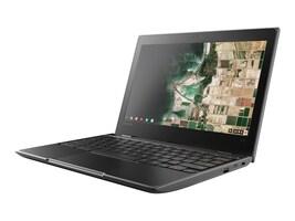 Lenovo 100e Chromebook Celeron N3350 1.1GHz 4GB 32GB eMMC ac BT WC 11.6 HD Chrome OS, 81ER0002US, 35045840, Notebooks