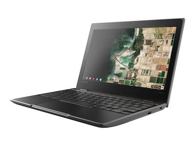 Lenovo 100e Chromebook Celeron N3350 1.1GHz 4GB 32GB eMMC ac BT WC 11.6 HD Chrome OS, 81ER0002US, 35045840, Notebooks